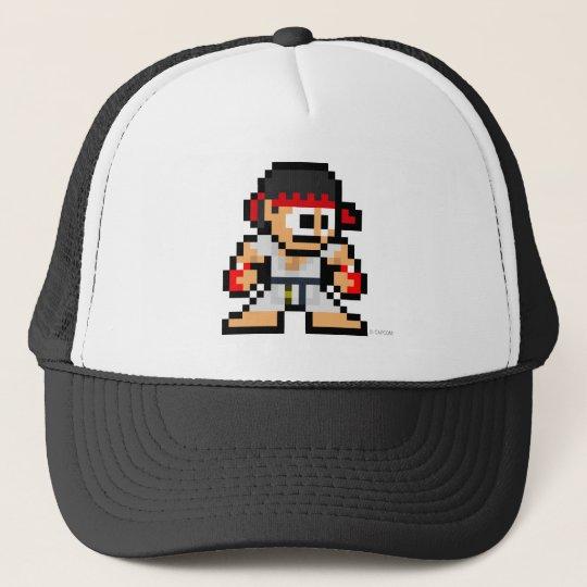8-Bit Ryu Trucker Hat
