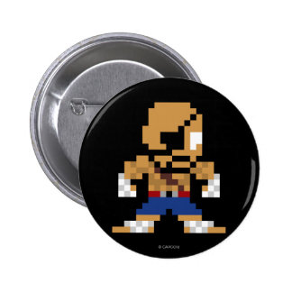 8-Bit Sagat Button