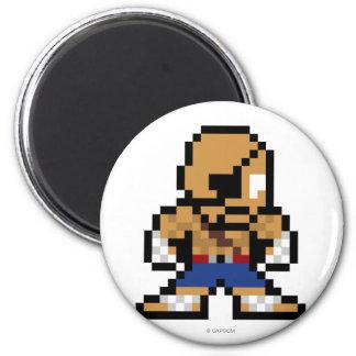 8-Bit Sagat Magnet