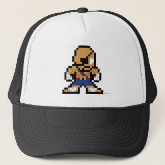 8-Bit Sagat Trucker Hat