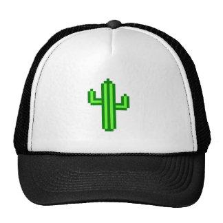 8-bit Saguaro Cactus Trucker Hat