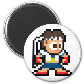 8-Bit Sakura Fridge Magnet