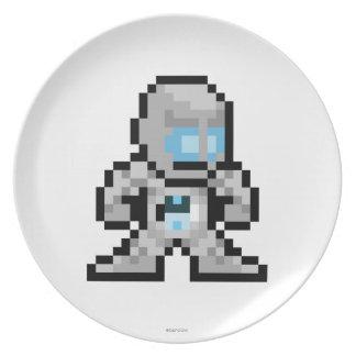 8-Bit Seth Dinner Plate