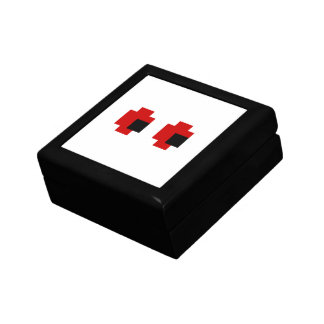 8 Bit Spooky Red Eyes Gift Box