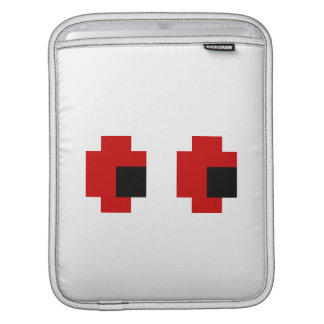 8 Bit Spooky Red Eyes Sleeve For iPads