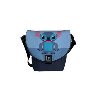 8-Bit Stitch Courier Bag