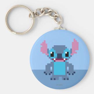 8-Bit Stitch Keychain