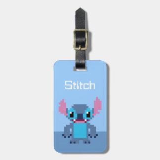 8-Bit Stitch Luggage Tag