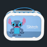 """8-Bit Stitch Lunch Box<br><div class=""""desc"""">Disney Fast Fashion   Lilo and Stitch   This is a cute 8-bit graphic version of the lovable Experiment 626,  also known as Stitch!</div>"""