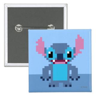 8-Bit Stitch Pinback Button