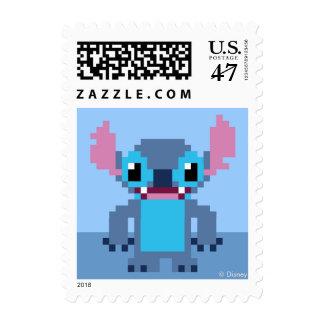 8-Bit Stitch Postage Stamp
