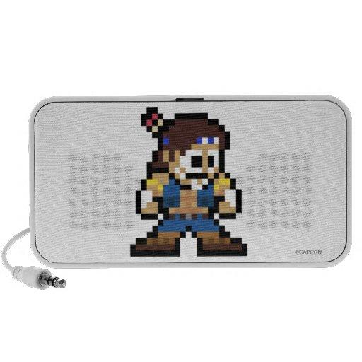 8-Bit T. Hawk Mp3 Speakers