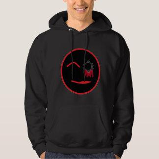 8-bit techie psycho hoodie