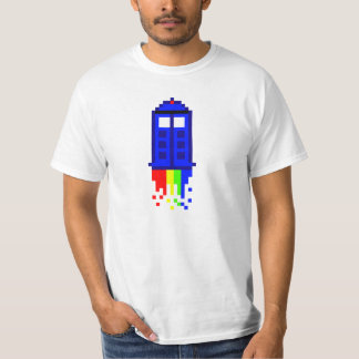 8 Bit Time Travel T-Shirt