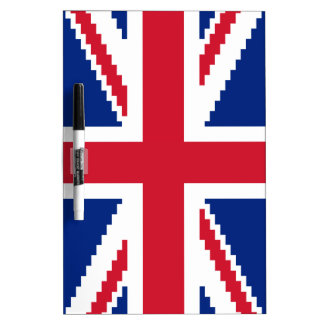 8 Bit Union Pixel Jack Dry-Erase Board