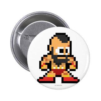 8-Bit Zangief Button