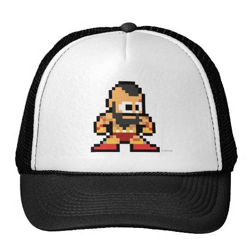 8-Bit Zangief Hat