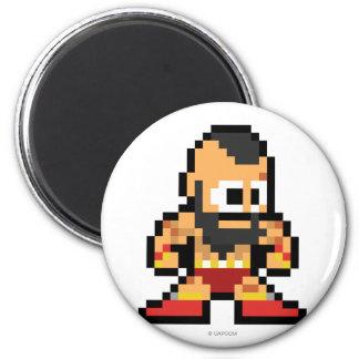 8-Bit Zangief Magnets