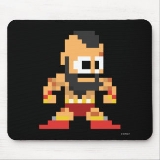 8-Bit Zangief Mouse Pad