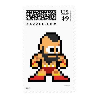 8-Bit Zangief Postage