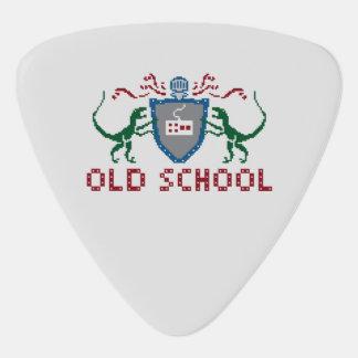 8 Bits Old School Raptor Triangle Guitar Pick