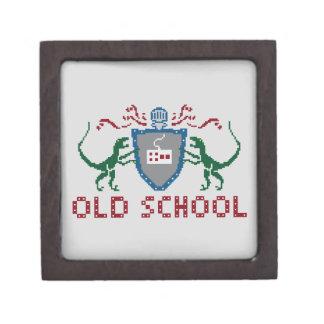 8 Bits Old School Velociraptor Small Box