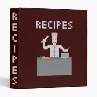 8 Bits Recipes Binder