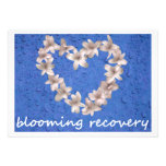 8 Blooming Recovery Personalized Invitation