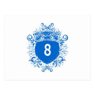 #8 Blue Shield Postcard