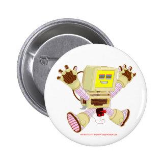 8 botón del zumbido v1.0 del pedazo pin redondo de 2 pulgadas