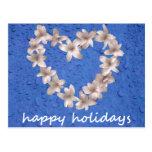 8 buenas fiestas tarjeta postal