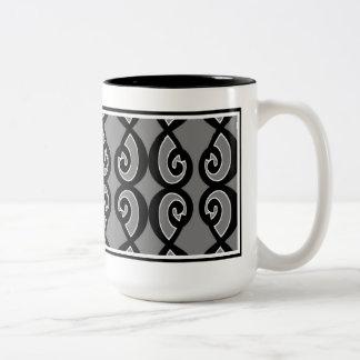 8 C Grey on Grey Coffee Mug