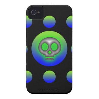 8 caso de Iphone 4 del cráneo 2 de la bola Case-Mate iPhone 4 Fundas