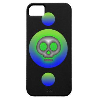 8 caso del iphone 5 del cráneo de la bola iPhone 5 Case-Mate coberturas