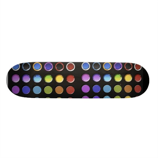 8-ColourfulGlossy Skateboard