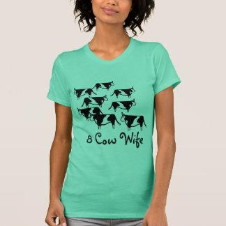 8 Cow Wife, lds, mormon, ctr,shirt, gift, latter T-Shirt
