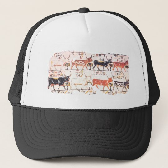 8 cows trucker hat