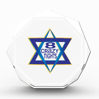 8 Crazy Nights Acrylic Award
