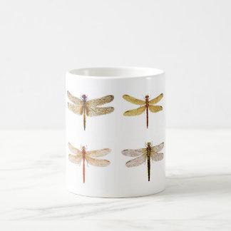 8 dragonflies Mug