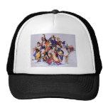8 Drunken Immortals Trucker Hats