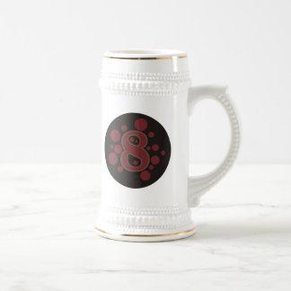 8-Eight Beer Stein