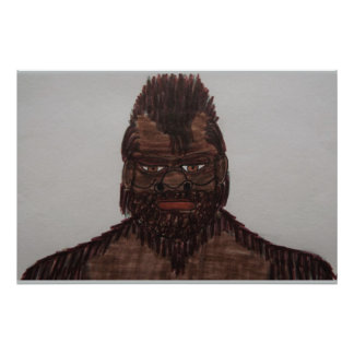 8 ft tall Russian Bf yeti 1959 Poster