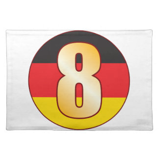 8 GERMANY Gold Cloth Placemat
