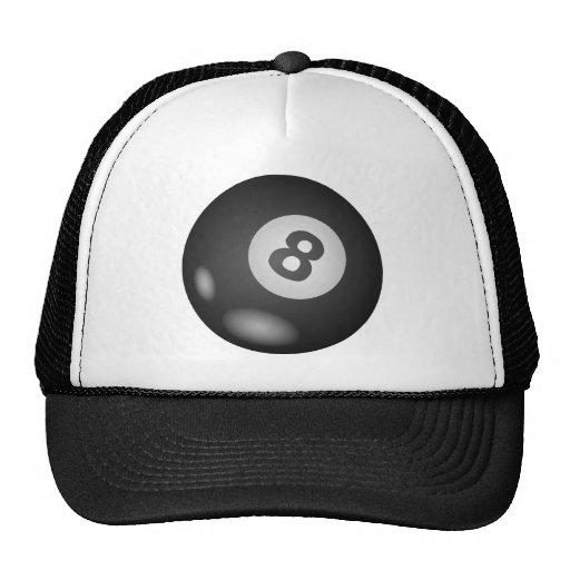 8 gorras del camionero de la bola