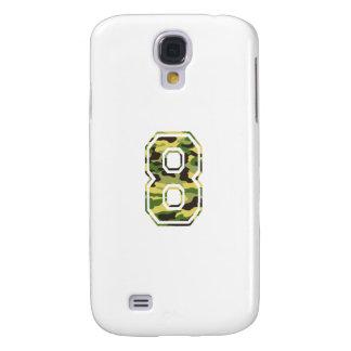 #8 Green & Yellow Camo Galaxy S4 Cover