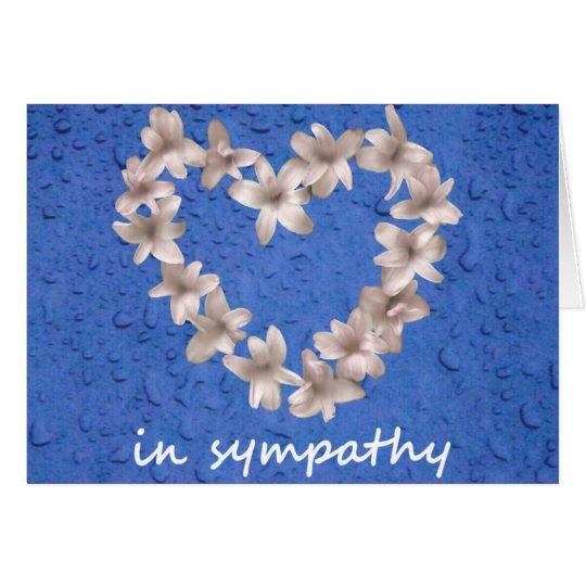 8 in sympathy card