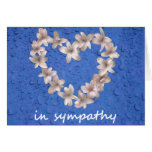 8 in sympathy stationery note card