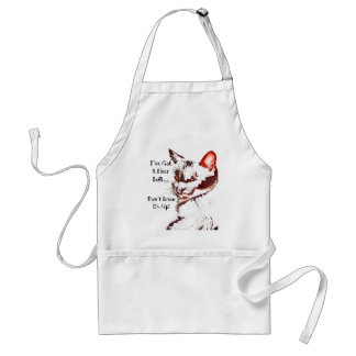 8 Lives Left Adult Apron