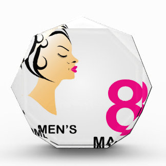 8 march International women's day Award