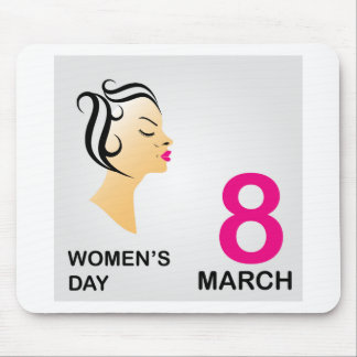 8 march International women's day Mouse Pad